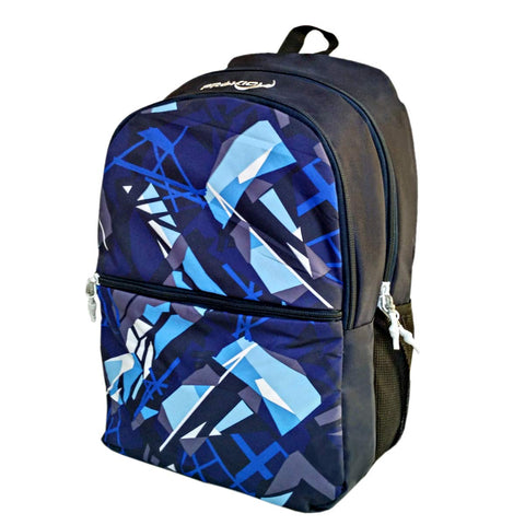 Prokick 30L Waterproof Casual Backpack | School Bag - Blue Grafitti - Prokicksports.com