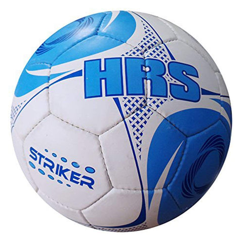 HRS Striker Tango Synthetic Rubber Football - Size 5 (Blue) - Best Price online Prokicksports.com