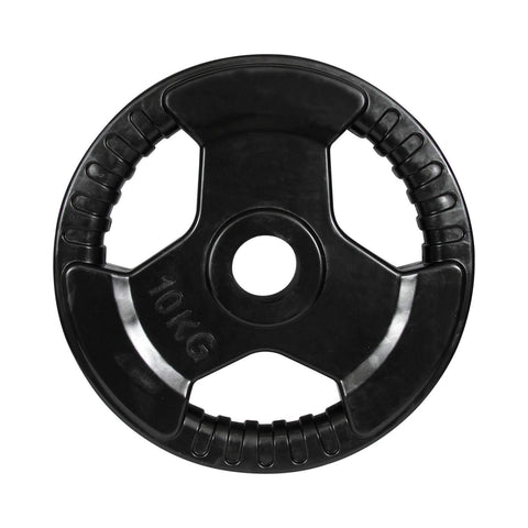 Prokick 3 Cut Finger Grip Color Gym Plate Black - Best Price online Prokicksports.com