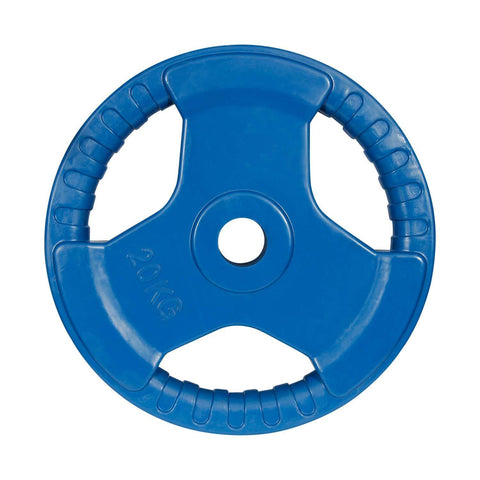 Prokick 3 Cut Finger Grip Color Gym Plate Blue - Best Price online Prokicksports.com