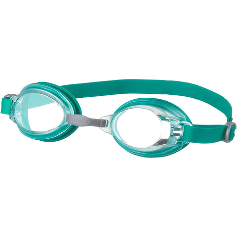 Speedo Jet V2 Swimming Goggles-Cyan/Clear - Best Price online Prokicksports.com