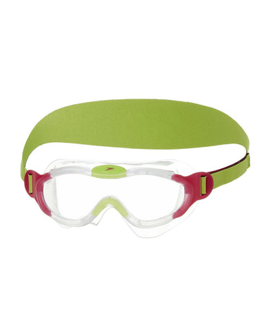 Speedo Tots Sea Squad Mask Goggles - Pink/Green - Best Price online Prokicksports.com