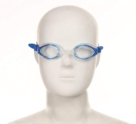 Speedo Unisex - Junior Mariner Swimming Goggles - Blue Clear - Best Price online Prokicksports.com