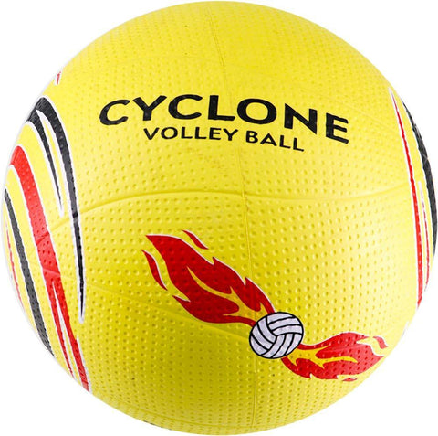 Cosco Cyclone Volleyball, Size 4 (Multicolour) - Best Price online Prokicksports.com