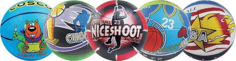 Cosco Basket Balls Multi-Graphics, Size 3 (Assorted) - Best Price online Prokicksports.com