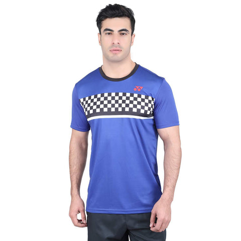 Yonex 1794 Polyester Badminton Choice of Champion Series T-Shirt (Surf The Web) - Best Price online Prokicksports.com