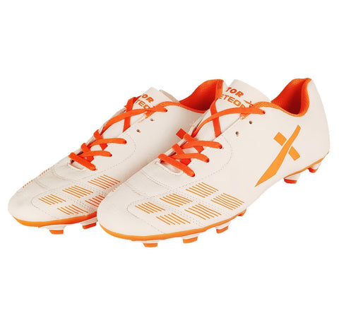 Vector X Meteor Football Shoe White/Orange - Best Price online Prokicksports.com