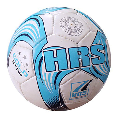 HRS Gold Star Synthetic Rubber Football - (Assorted Colors) - Best Price online Prokicksports.com