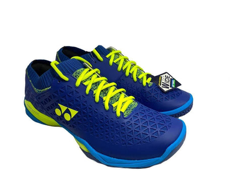 Yonex Eclipsion Z Wide Badminton Shoes Blue/Yellow - Best Price online Prokicksports.com