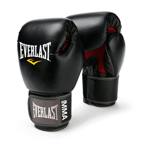 Everlast Pro Style Muay Thai Gloves, 12-Ounce (Black) - Best Price online Prokicksports.com