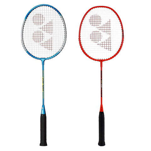 Yonex Bestsellers Badminton Racquet, Set of 2 - Ideal for beginners and intermediate level players (Blue - Orange) - Best Price online Prokicksports.com