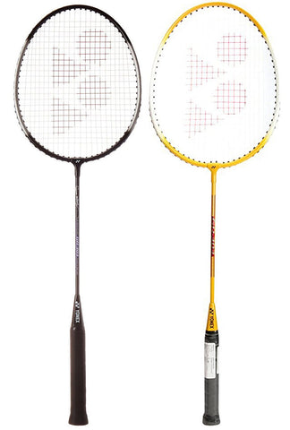Yonex GR303 Badminton Combo Kit (Yellow/Black) - Best Price online Prokicksports.com