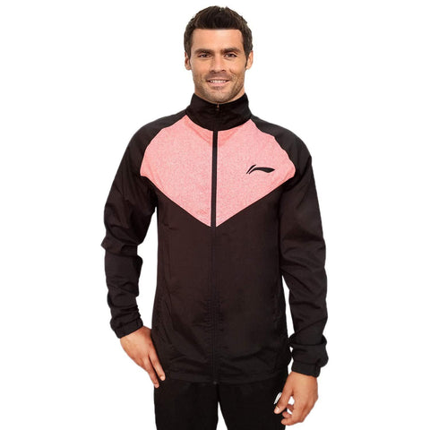 Li-Ning Active Sports Jacket for all ages, Black/Red - Best Price online Prokicksports.com
