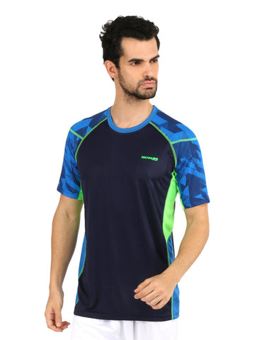 Vector X VTD-008-A Running T-Shirt, Small (Blue) - Prokicksports.com