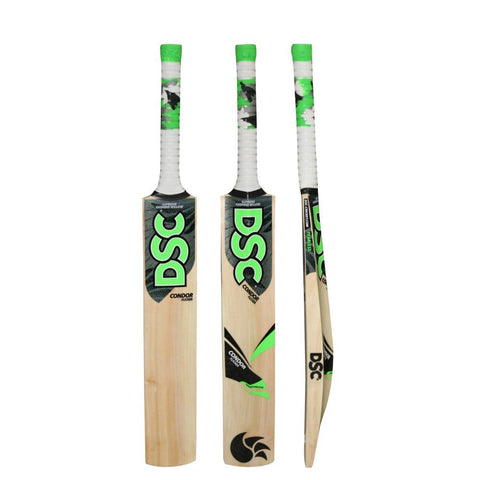 DSC Condor Flicker Kashmir Willow Cricket Bat - Prokicksports.com