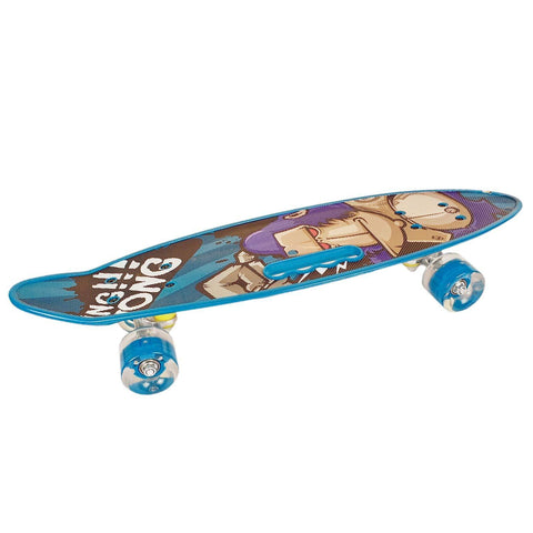 Prokick Junior Skateboard Fibre Blue Multicolor - Best Price online Prokicksports.com