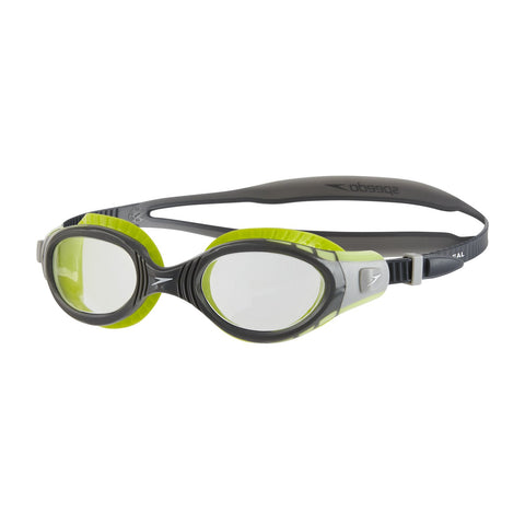 Speedo 811315B995 Blend Futura Biofuse Fseal Dual Goggles (Green/Clear) - Best Price online Prokicksports.com