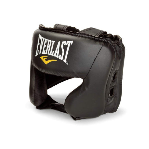 EVERLAST BOXING HEADGEAR - BLACK - Best Price online Prokicksports.com