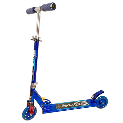 Prokick Road Runner Scooter for Kids of 3 to 14 Years Age - 75 KG Capacity (Blue) - Best Price online Prokicksports.com