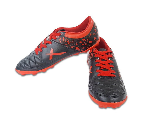 Vector X Fizer Football Shoes (Black-Red) - Best Price online Prokicksports.com