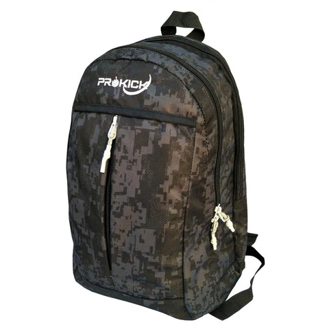 Prokick 30L Waterproof Casual Backpack | School Bag - Black Matrix - Best Price online Prokicksports.com