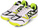 Vector X Atomic Mesh Cricket Shoes, White/Lime - Best Price online Prokicksports.com