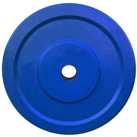 Prokick Rubber Weight Plate with 28 MM Bore, Blue (Single) - Best Price online Prokicksports.com