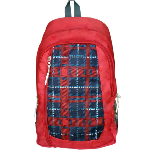 Prokick 30 Ltrs Lite Weight Waterproof Casual Backpack | School Bag, Red - Prokicksports.com