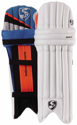 SG Nexus Batting Leg Guards - Best Price online Prokicksports.com
