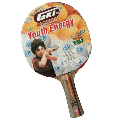 GKI Youth Energy Table Tennis Bat - Best Price online Prokicksports.com