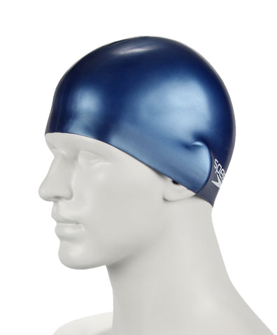 Speedo Unisex-Junior Plain Moulded Silicone Swimcap - Best Price online Prokicksports.com