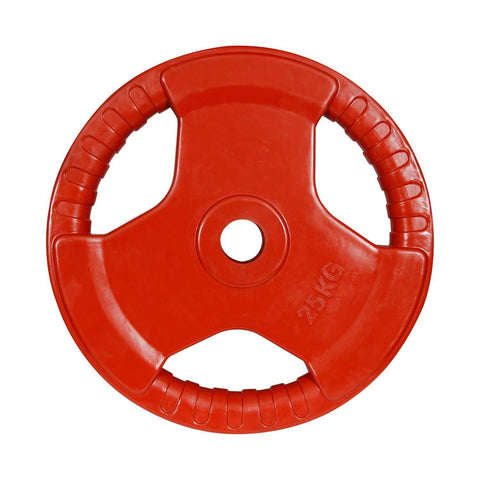 Prokick 3 Cut Finger Grip Color Gym Plate Red - Best Price online Prokicksports.com