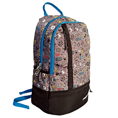 Prokick Elements 26 Ltrs Casual Laptop Backpack - Music - Best Price online Prokicksports.com