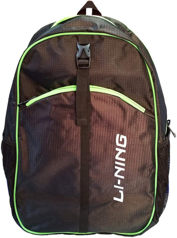 Li-Ning Sports Kitbag - Black Lime - Best Price online Prokicksports.com