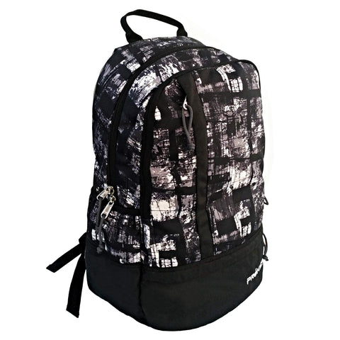 Prokick Elements 26 Ltrs Casual Laptop Backpack - Black Graffiti - Prokicksports.com