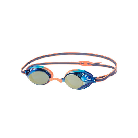 Speedo 811325B987 Blend Vengeance Mirror Goggles, Kids (Orange/Blue) - Prokicksports.com