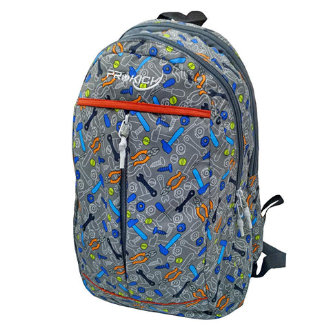 Prokick 30L Waterproof Casual Backpack | School Bag - Grey Tools - Best Price online Prokicksports.com