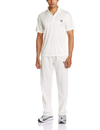 SG Club Half Sleeves Cricket Combo (White) - Best Price online Prokicksports.com