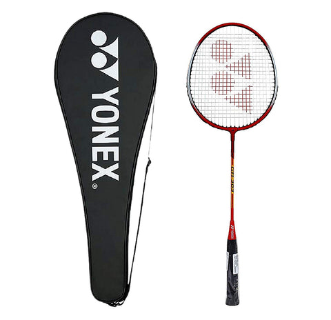 Yonex GR 303 Badminton Racquet with Full Cover - Red - Best Price online Prokicksports.com