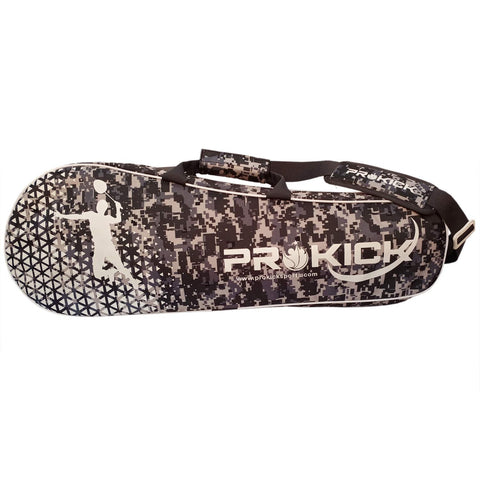 Prokick 2020 Camo Fusion Latest Edition Badminton Kitbag with Double Zipper Compartment - Black Camo Fusion - Best Price online Prokicksports.com
