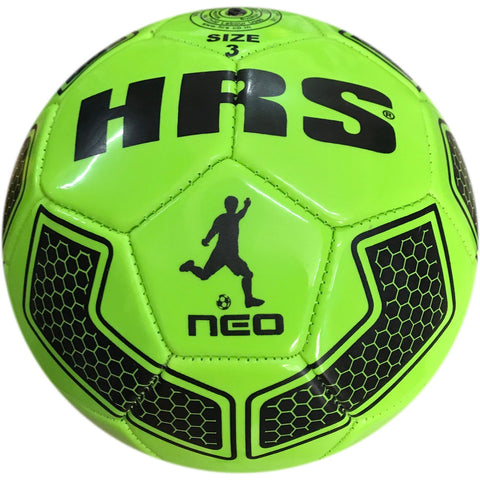 HRS Neo PVC Machine Stitched Football - Size 1 (Below 4 yrs) - Green - Best Price online Prokicksports.com