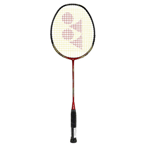 Yonex Nano Ray 68 Lightweight Graphite Badminton Racquet, G4 - Red/Black - Best Price online Prokicksports.com