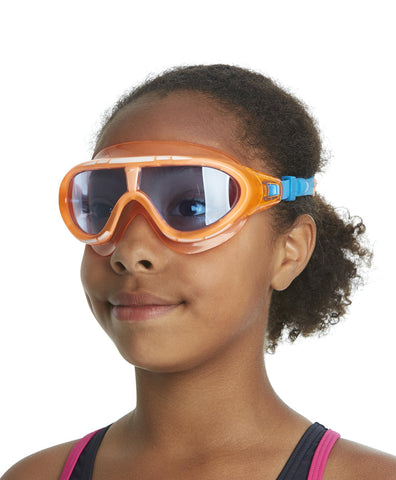 Speedo Unisex - Junior Rift Goggles (Orange/Blue) - Best Price online Prokicksports.com