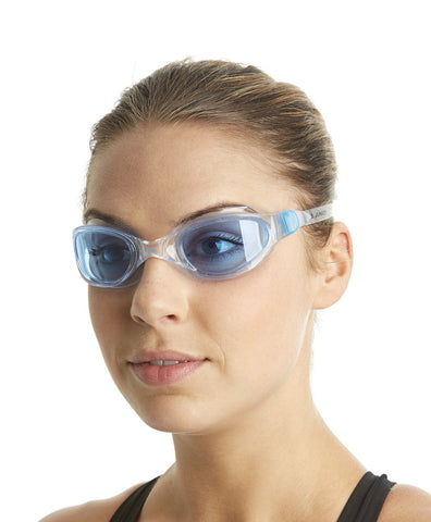 Speedo Unisex-Adult Futura Plus Goggles (Clear/Blue) - Best Price online Prokicksports.com