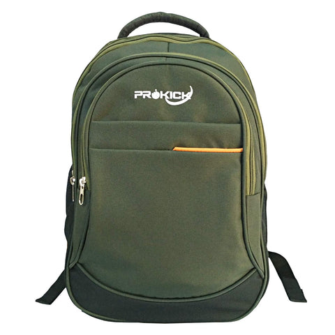 "Prokick""Big-5"" Panther Series Polyester 40L Backpack - Olive Green - Prokicksports.com"