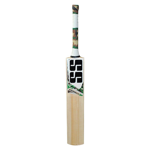 SS Ton Camo 2.0 Kashmir willow full size cricket bat for leather ball, short handle - Best Price online Prokicksports.com