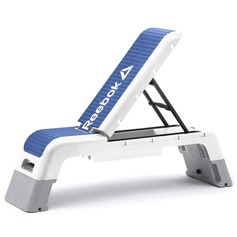 Reebok RAEL-40170 BL Adjustable Bench Workout Deck (Blue) - Best Price online Prokicksports.com
