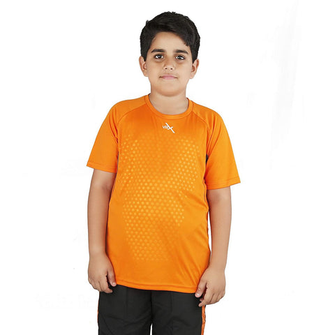 Vector X Polyester Kids T-shirt Orange - Best Price online Prokicksports.com