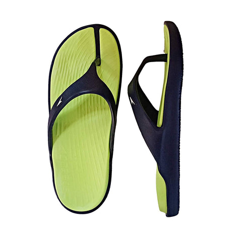 Speedo Extra-Light Water Resistant Swimming Slippers - (Bright zest/Navy/White) - Prokicksports.com