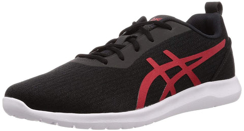 Asics Kanmei 2 Men's Running Shoes Black/ Speed Red - Best Price online Prokicksports.com